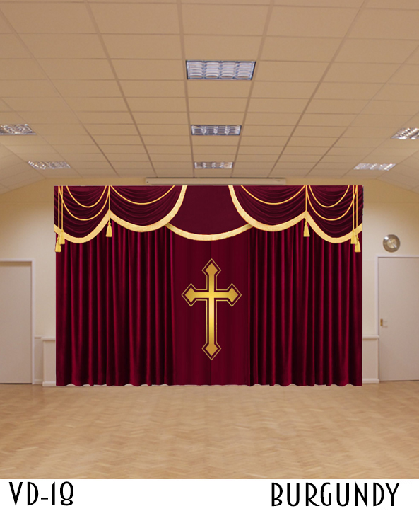 Luxury Collection Church Curtain